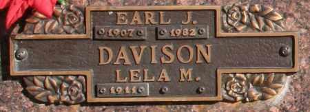 DAVISON, LELA M - Maricopa County, Arizona   LELA M DAVISON - Arizona Gravestone Photos