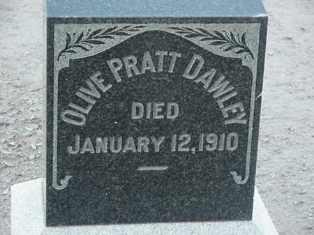 DAWLEY, OLIVE PRATT - Maricopa County, Arizona | OLIVE PRATT DAWLEY - Arizona Gravestone Photos