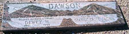 DAWSON, MARGUERITE JACKIE - Maricopa County, Arizona | MARGUERITE JACKIE DAWSON - Arizona Gravestone Photos