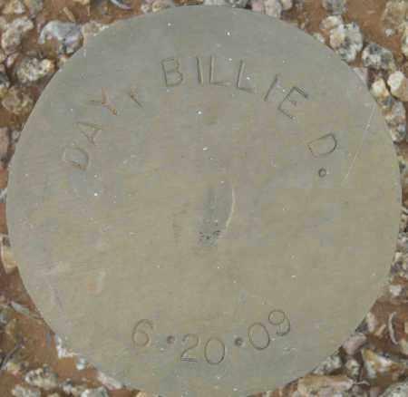 DAY, BILLIE D. - Maricopa County, Arizona | BILLIE D. DAY - Arizona Gravestone Photos