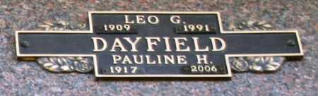 DAYFIELD, PAULINE H - Maricopa County, Arizona | PAULINE H DAYFIELD - Arizona Gravestone Photos