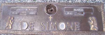 DE SIMONE, MARIA - Maricopa County, Arizona | MARIA DE SIMONE - Arizona Gravestone Photos