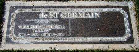 DE ST. GERMAIN, CHARLES MARTIAL - Maricopa County, Arizona   CHARLES MARTIAL DE ST. GERMAIN - Arizona Gravestone Photos