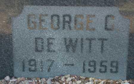 DE WITT, GEORGE G. - Maricopa County, Arizona | GEORGE G. DE WITT - Arizona Gravestone Photos