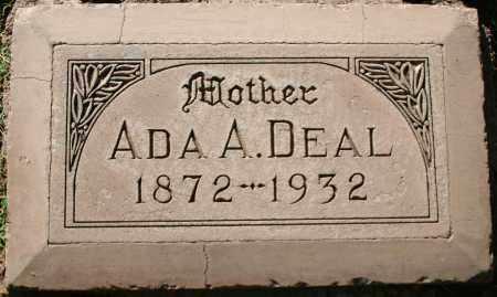 PETERS DEAL, ADA ALBERTA - Maricopa County, Arizona | ADA ALBERTA PETERS DEAL - Arizona Gravestone Photos
