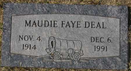 DEAL, MAUDIE FAYE - Maricopa County, Arizona   MAUDIE FAYE DEAL - Arizona Gravestone Photos