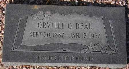 DEAL, ORVILLE O. - Maricopa County, Arizona   ORVILLE O. DEAL - Arizona Gravestone Photos