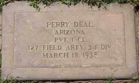 DEAL, PERRY - Maricopa County, Arizona | PERRY DEAL - Arizona Gravestone Photos