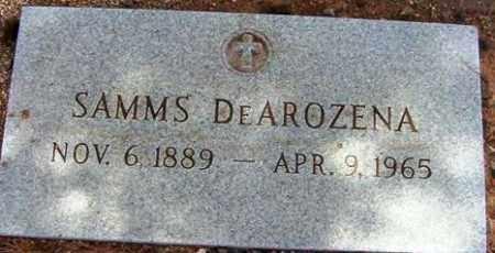 DEAROZENA, SAMMS - Maricopa County, Arizona | SAMMS DEAROZENA - Arizona Gravestone Photos