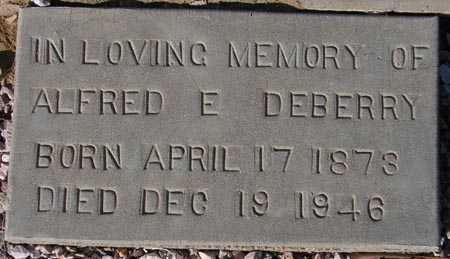DEBERRY, ALFRED E. - Maricopa County, Arizona | ALFRED E. DEBERRY - Arizona Gravestone Photos