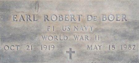 DEBOER, EARL ROBERT - Maricopa County, Arizona | EARL ROBERT DEBOER - Arizona Gravestone Photos