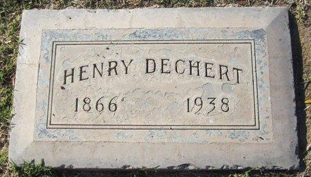DECHERT, HENRY - Maricopa County, Arizona   HENRY DECHERT - Arizona Gravestone Photos