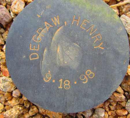 DEGRAW, HENRY - Maricopa County, Arizona | HENRY DEGRAW - Arizona Gravestone Photos