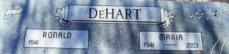 DEHART, MARIA ANNA - Maricopa County, Arizona   MARIA ANNA DEHART - Arizona Gravestone Photos