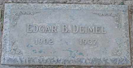 DEIMEL, EDGAR BERTRUM - Maricopa County, Arizona | EDGAR BERTRUM DEIMEL - Arizona Gravestone Photos