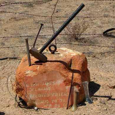 DELAHAUT, ALLEN JAMES - Maricopa County, Arizona | ALLEN JAMES DELAHAUT - Arizona Gravestone Photos