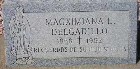 DELGADILLO, MAGXIMIANA L. - Maricopa County, Arizona | MAGXIMIANA L. DELGADILLO - Arizona Gravestone Photos