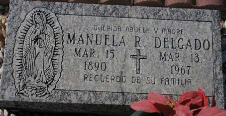 DELGADO, MANUELA R. - Maricopa County, Arizona | MANUELA R. DELGADO - Arizona Gravestone Photos