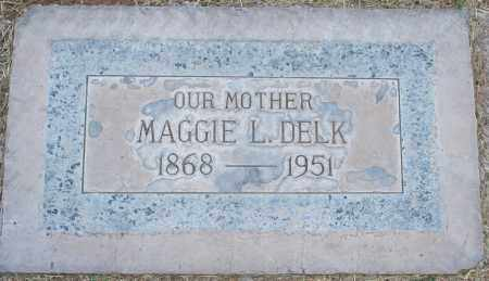 DELK, MAGGIE L - Maricopa County, Arizona | MAGGIE L DELK - Arizona Gravestone Photos