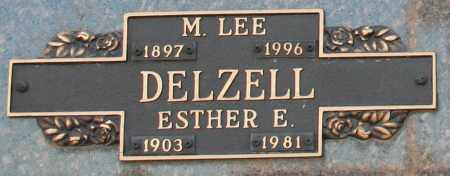 DELZELL, M. LEE - Maricopa County, Arizona | M. LEE DELZELL - Arizona Gravestone Photos
