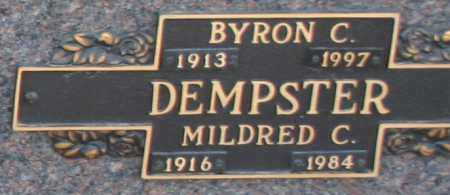 DEMPSTER, MILDRED C - Maricopa County, Arizona | MILDRED C DEMPSTER - Arizona Gravestone Photos