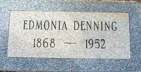 DENNING, EDMONIA - Maricopa County, Arizona | EDMONIA DENNING - Arizona Gravestone Photos