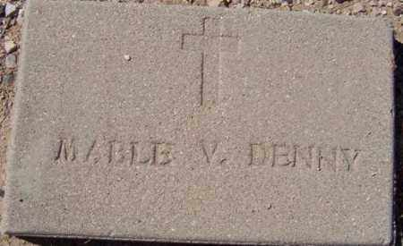 DENNY, MABLE VALERIE - Maricopa County, Arizona | MABLE VALERIE DENNY - Arizona Gravestone Photos