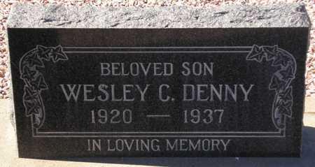 DENNY, WESLEY C. - Maricopa County, Arizona | WESLEY C. DENNY - Arizona Gravestone Photos