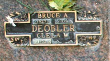 DEOBLER, BRUCE A - Maricopa County, Arizona | BRUCE A DEOBLER - Arizona Gravestone Photos