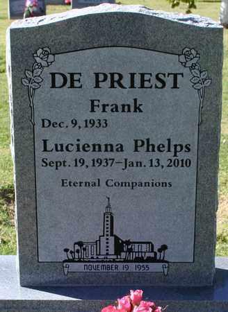 DEPRIEST, FRANK - Maricopa County, Arizona   FRANK DEPRIEST - Arizona Gravestone Photos