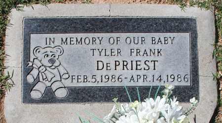DEPRIEST, TYLER FRANK - Maricopa County, Arizona   TYLER FRANK DEPRIEST - Arizona Gravestone Photos