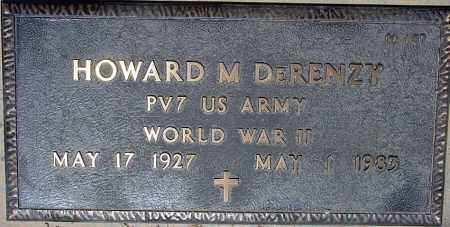 DERENZY, HOWARD M. - Maricopa County, Arizona   HOWARD M. DERENZY - Arizona Gravestone Photos