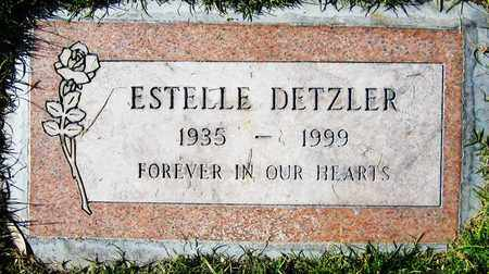 DETZLER, ESTELLE - Maricopa County, Arizona | ESTELLE DETZLER - Arizona Gravestone Photos