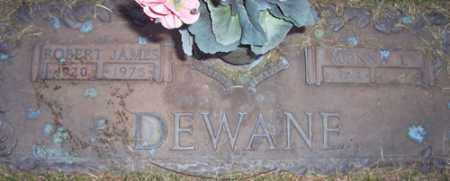 DEWANE, MONNA L. - Maricopa County, Arizona | MONNA L. DEWANE - Arizona Gravestone Photos