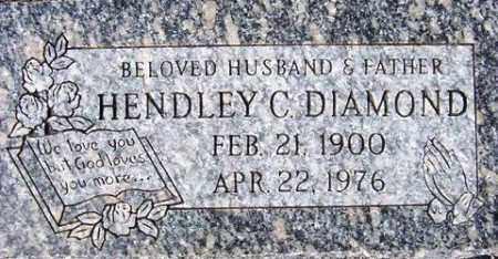 DIAMOND, HENDLEY C. - Maricopa County, Arizona | HENDLEY C. DIAMOND - Arizona Gravestone Photos
