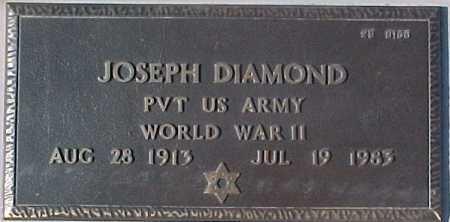 DIAMOND, JOSEPH - Maricopa County, Arizona | JOSEPH DIAMOND - Arizona Gravestone Photos