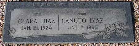 DIAZ, CANUTO - Maricopa County, Arizona | CANUTO DIAZ - Arizona Gravestone Photos
