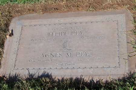 DIAZ, AGNES M. - Maricopa County, Arizona | AGNES M. DIAZ - Arizona Gravestone Photos