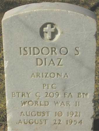 DIAZ, ISIDORO S. - Maricopa County, Arizona | ISIDORO S. DIAZ - Arizona Gravestone Photos