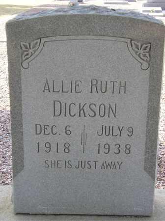 DICKSON, ALLIE RUTH - Maricopa County, Arizona | ALLIE RUTH DICKSON - Arizona Gravestone Photos