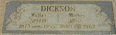 DICKSON, MINA - Maricopa County, Arizona   MINA DICKSON - Arizona Gravestone Photos