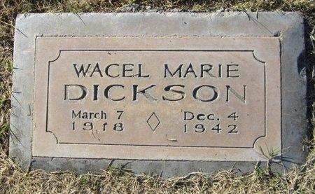 DICKSON, WACEL MARIE - Maricopa County, Arizona | WACEL MARIE DICKSON - Arizona Gravestone Photos