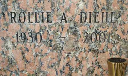 DIEHL, ROLLIE A. - Maricopa County, Arizona | ROLLIE A. DIEHL - Arizona Gravestone Photos