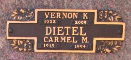 DIETEL, VERNON K - Maricopa County, Arizona | VERNON K DIETEL - Arizona Gravestone Photos