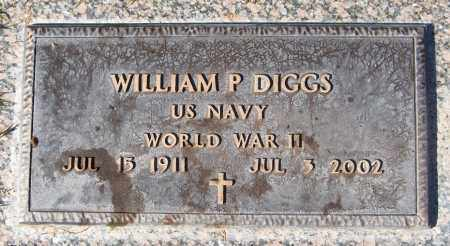 DIGGS, WILLIAM P. - Maricopa County, Arizona | WILLIAM P. DIGGS - Arizona Gravestone Photos