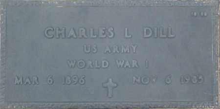 DILL, CHARLES L. - Maricopa County, Arizona   CHARLES L. DILL - Arizona Gravestone Photos