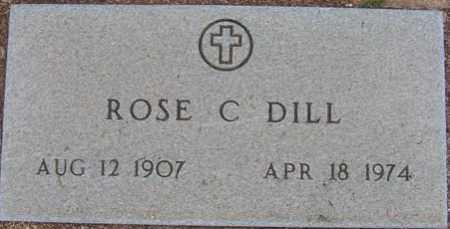 DILL, ROSE C. - Maricopa County, Arizona | ROSE C. DILL - Arizona Gravestone Photos