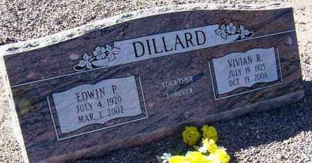 DILLARD, EDWIN P. - Maricopa County, Arizona | EDWIN P. DILLARD - Arizona Gravestone Photos