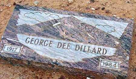 DILLARD, GEORGE DEE - Maricopa County, Arizona | GEORGE DEE DILLARD - Arizona Gravestone Photos