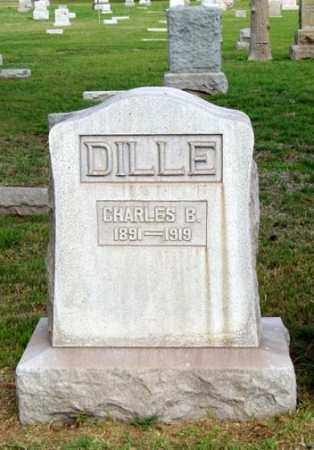 DILLE, CHARLES B. - Maricopa County, Arizona | CHARLES B. DILLE - Arizona Gravestone Photos